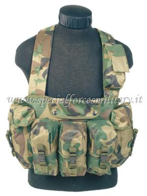 CHEST RIGG 6-POCKET WOODLAND SFM