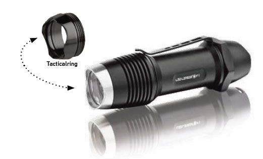 LED LENSER TORCIA LED F1 FORCE SERIES 400 LUMENS