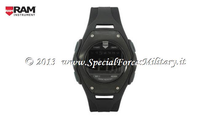OROLOGIO RAM DIGITAL TACTICAL BLACK