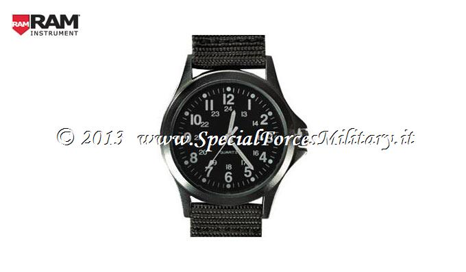 OROLOGIO RAM FIELD WATCH BLACK