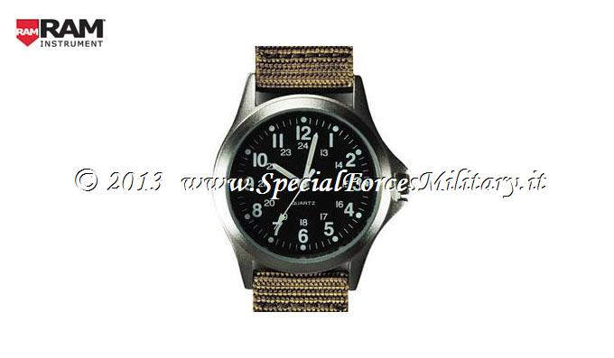 OROLOGIO RAM FILED WATCH KHAKI